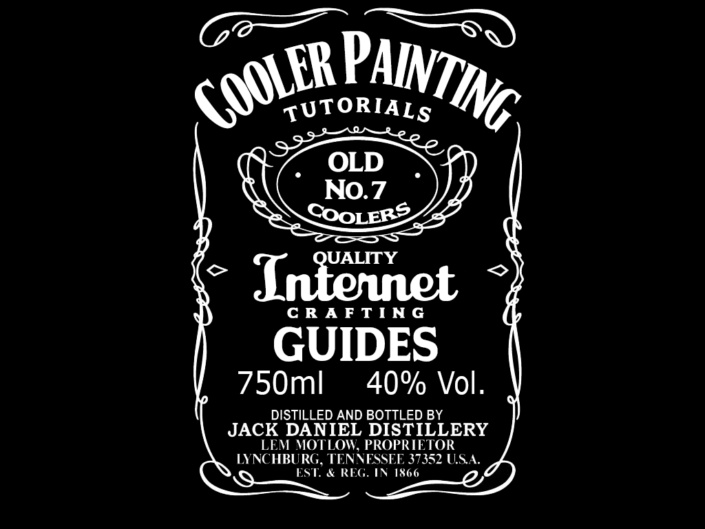 Jack Daniels Label Template | Template Idea