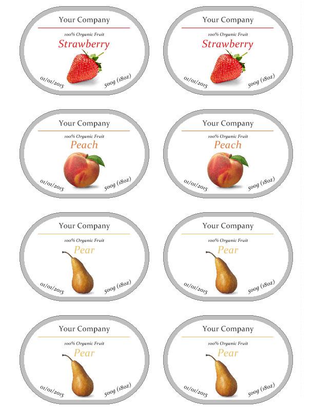 HomeCookingMemories CKA Jam Labels. (2550×3300) | Jam maken