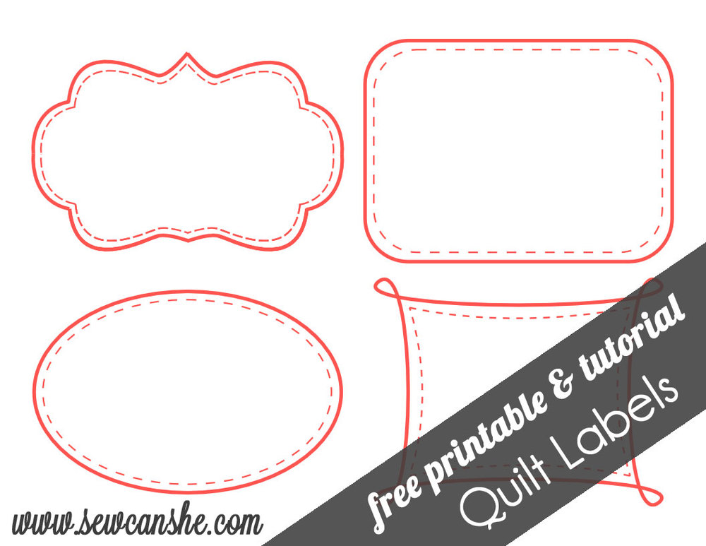 Free Printable Bag Label Templates | Candy Labels Blank image