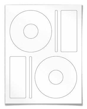 CD labels DVD labels, Same size as Memorex CD labels