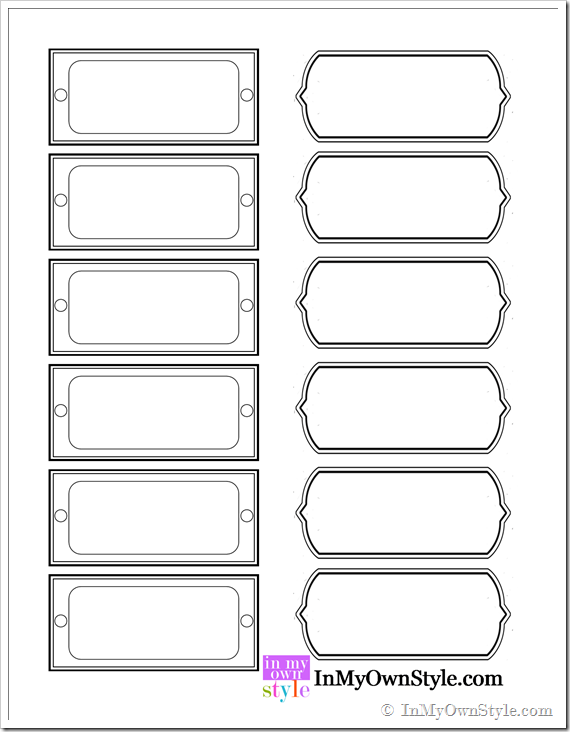 Large Label Template] Label Template Clip Art At ClkerVector