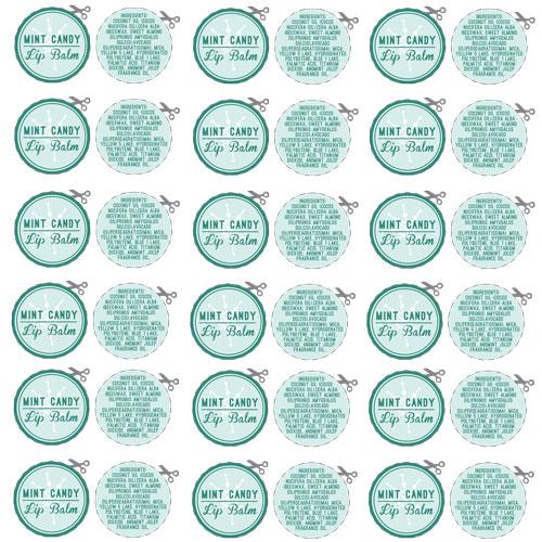 Lip balm labels | Etsy