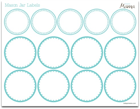 Printable Jar Label Template | Label templates, Jar labels and Jar