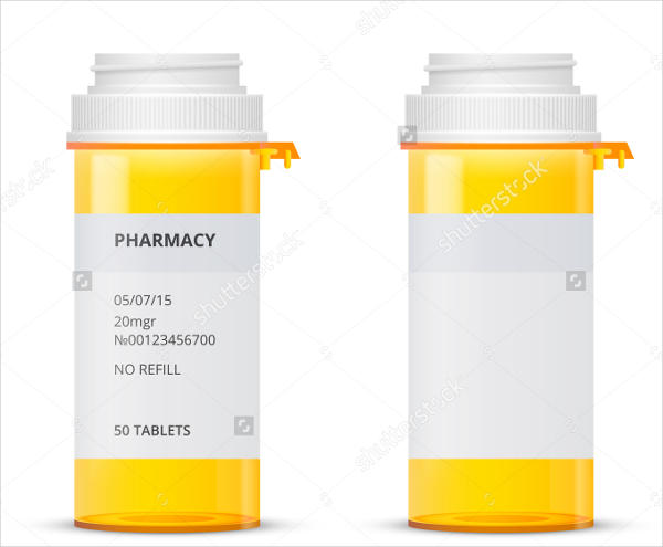 pill bottle label PTO Today