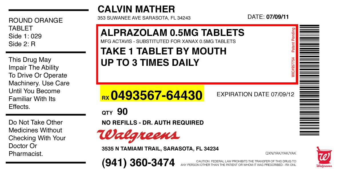 6+ Pill Bottle Label Templates Design, Templates   Free
