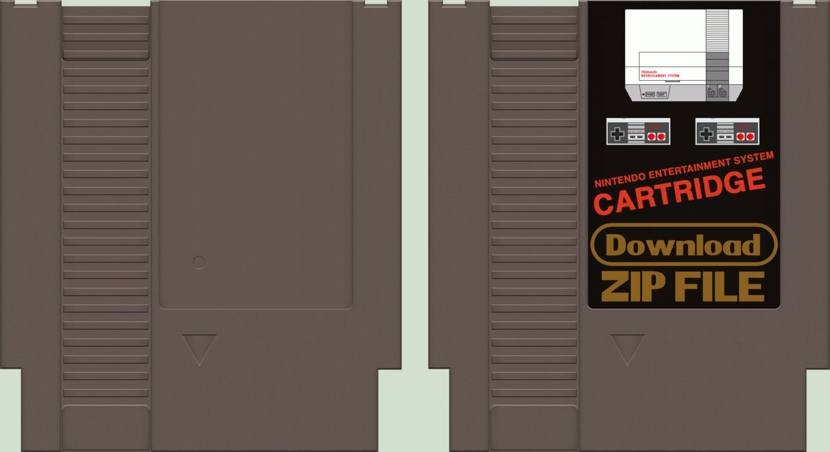 How to Make Nintendo NES Labels NES Label Design YouTube