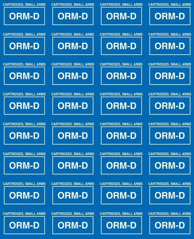 Anyone know who had the link to print ORM D labels for ammo shipping?