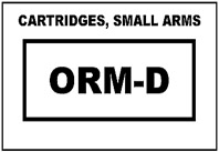 Orm D Label Printable