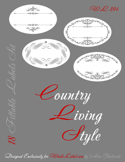 Removable White Matte Oval Labels Oval Stickers OL9810