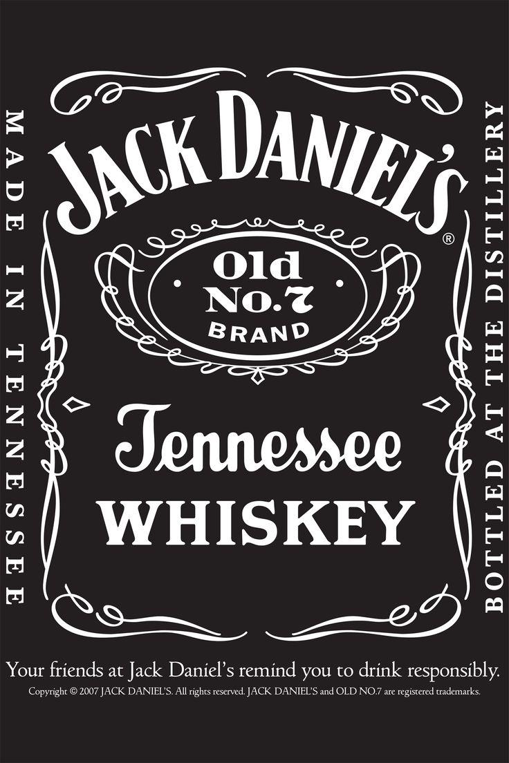 25+ unique Jack daniels label ideas on Pinterest | Jack daniels