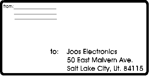free printable shipping label templateReference Letters Words