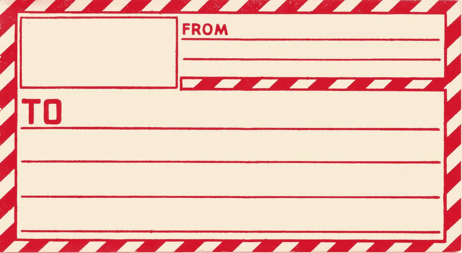 Vintage Gummed Parcel Post Shipping Labels | Worldlabel Blog
