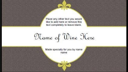 Free Printable Wine Labels | LoveToKnow