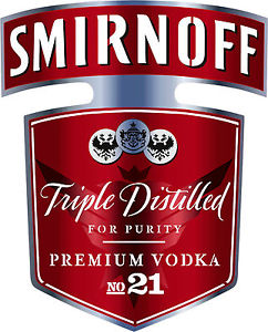 NEW Smirnoff Vodka Bottle Red Label Airbrush Stencil Template Step