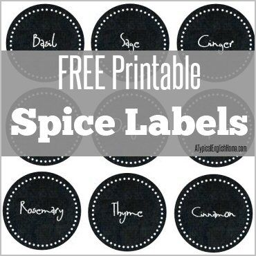 25+ unique Spice jar labels ideas on Pinterest | Spice labels
