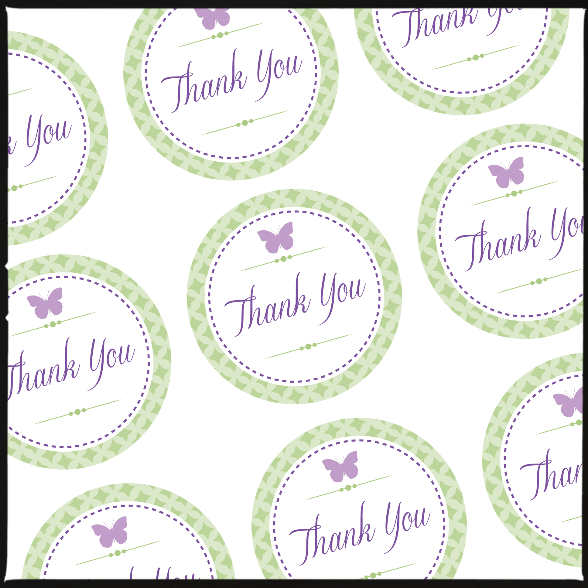 THANK YOU TAGS FOR PRETTY GIFT BAGS (& a free download for you
