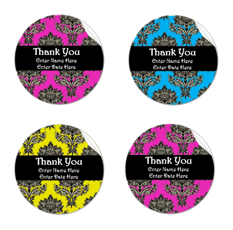 Thank You Label Template | Microsoft Word Templates