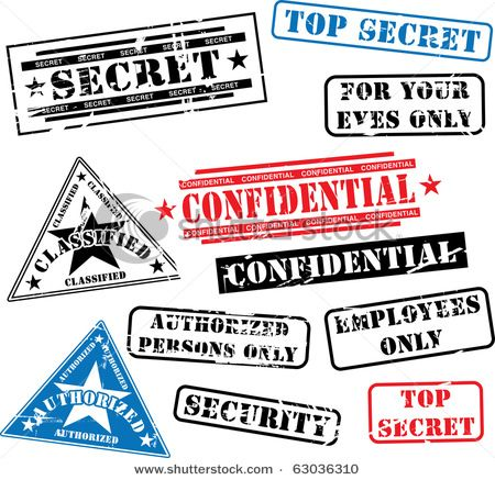 Fbi Clip Art | Top secret stamp and envelope | Bryant 8th birthday