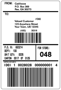 Top 4 Layouts Of Shipping Label Templates Word Templates, Excel