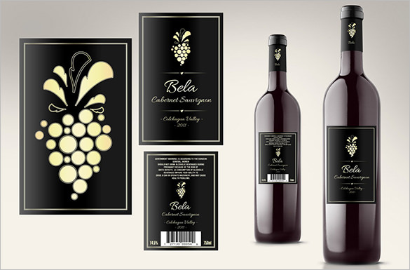 Free Print your own custom wine labels | Projects to Do