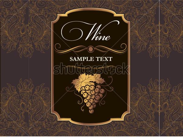 Wine Label Template | doliquid